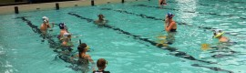 Junior Underwater Hockey players at Wollongong