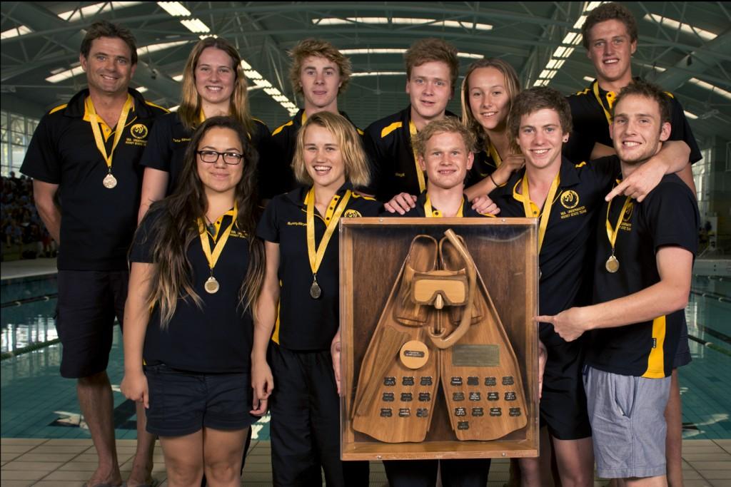 2013 Australian Underwater Hockey Championships U19 Gold Medal winning team: Western Australia.
