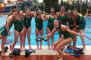 U19 Girls team at 2013 Worlds in Hungary