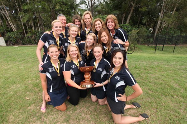 2014 Australian Elite Women's division champions, Tasmania [Photo: Tyrone Canning, Mako Productions]